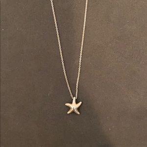Authentic Tiffany starfish pendant